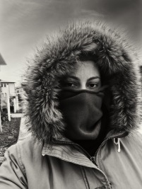 Cold and Windy Selfie