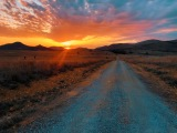 Path to the Sunset - Medicine Park, Fort Sill, OK