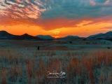 Sunset Over the Hills - Medicine Park, Fort Sill, OK